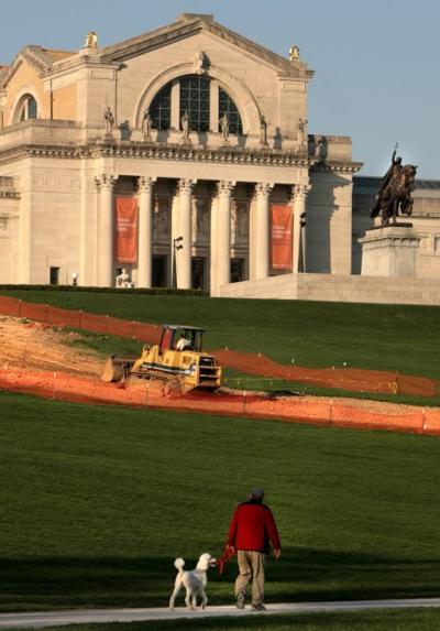 Art Hill Construction Work