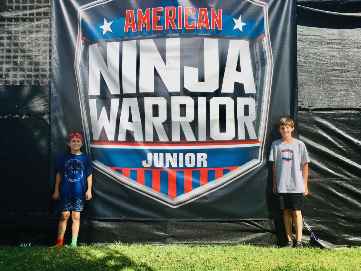 Jeff Baumgarten, age 11, of Chesterfield MO & Andrew Marr, age 12, of Oakville MO