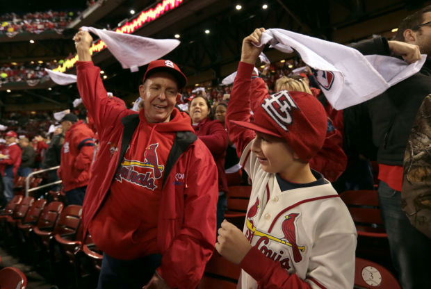 Cardinals v Red Sox in Game 3 of the World Series