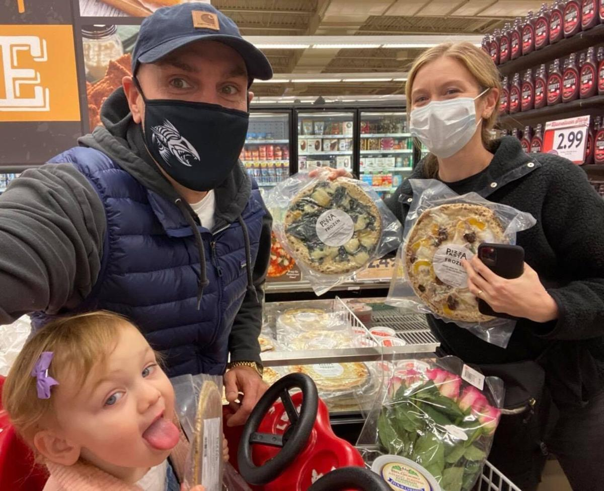 Katie Collier and family at Dierbergs
