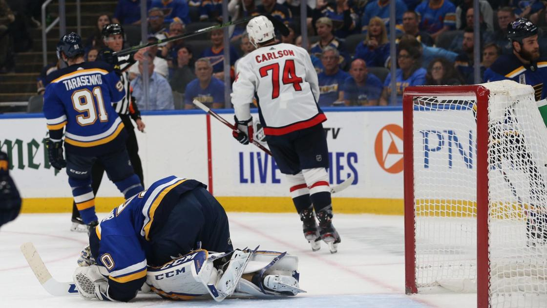 Tipsheet: Capitals give Blues refresher course on heavy play