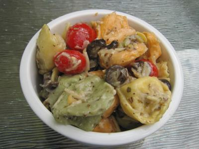Special Request Curbside and Carryout Comfort LeGrand's Cheese Tortellini Salad for pub May 13, 2020