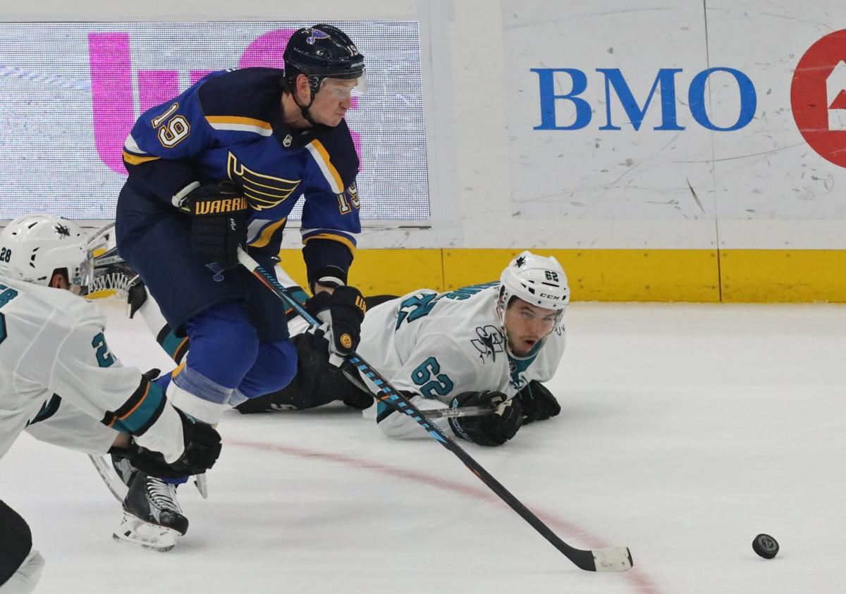Blues vs. Sharks preview