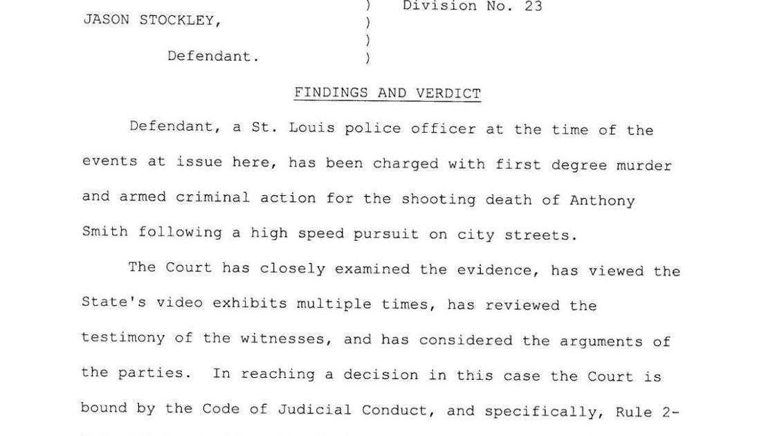 Read the verdict in the Jason Stockley murder case