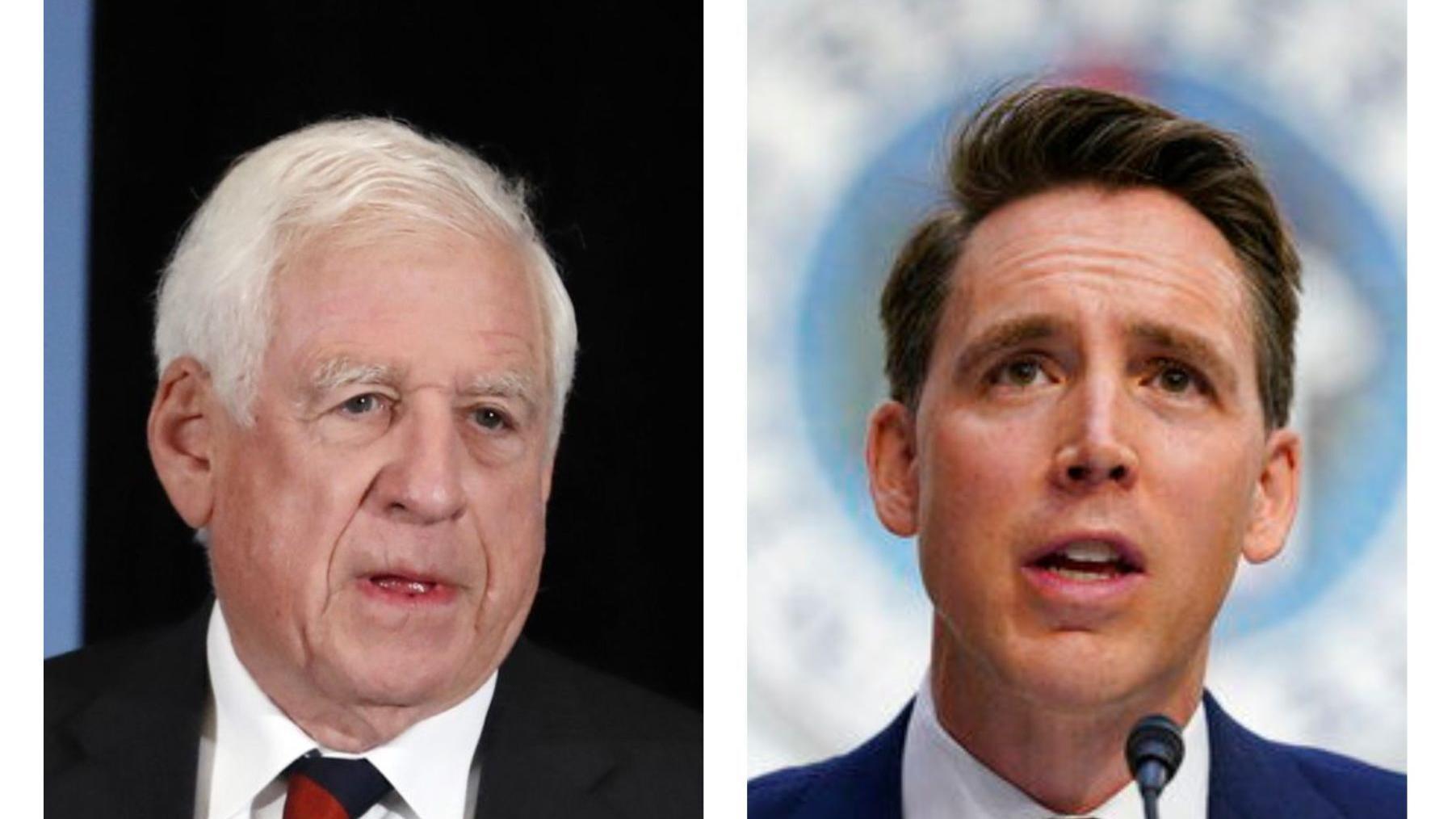 'Conspiracy theories': Former U.S. Sen. John Danforth slams Hawley's challenge to election results