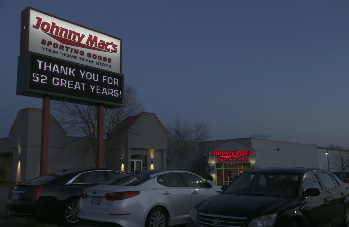 Johnny Mac's Sporting Goods closing