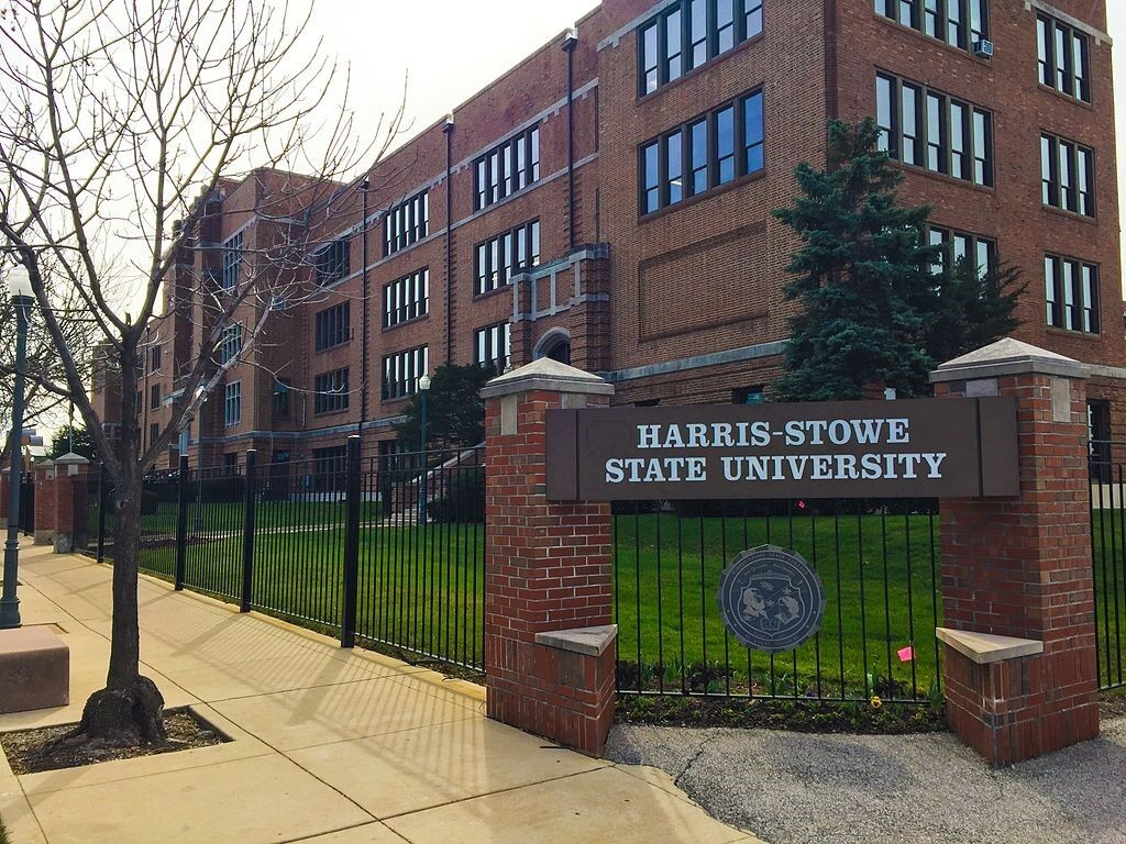 The main entrance of Harris-Stowe State University. Photo provided by Harris-Stowe State University