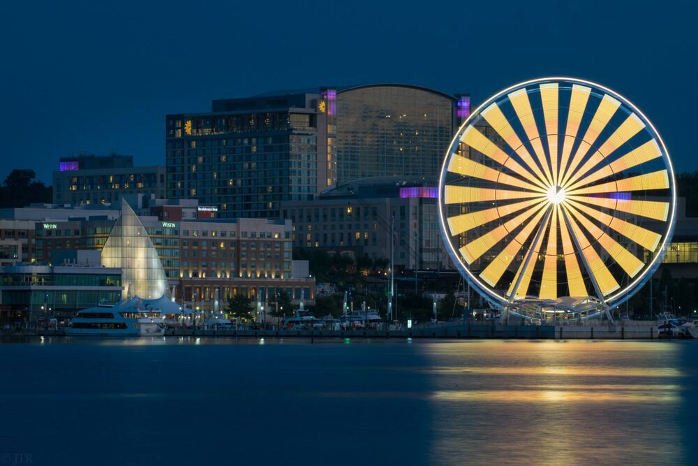 Observation wheel under construction at Union Station will be like this one