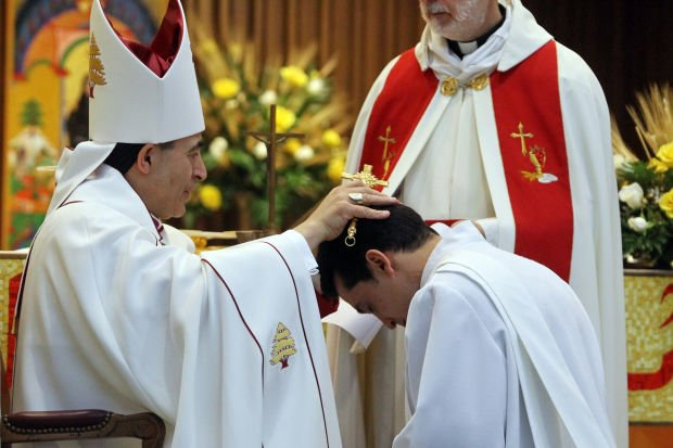 Wissam George Akiki ordained at St. Raymond Cathedral