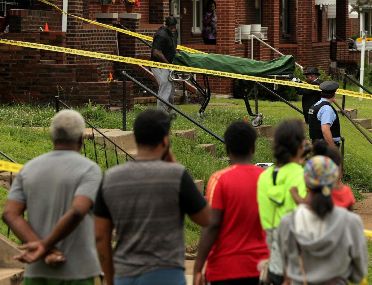 St. Louis shootings just miles apart leave at least three dead