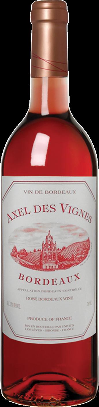 Axel des Vignes 2018 Rosé Bordeaux, France