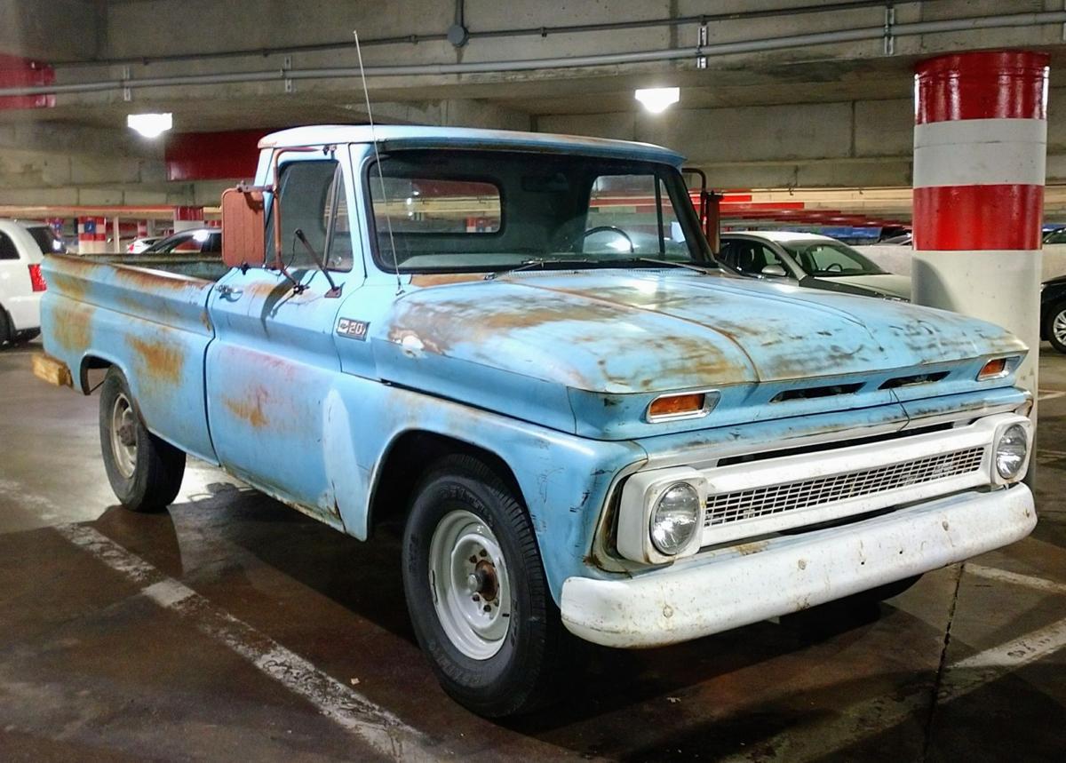 Parking garage find, a 1965 Chevy C-20 pickup | Automotive