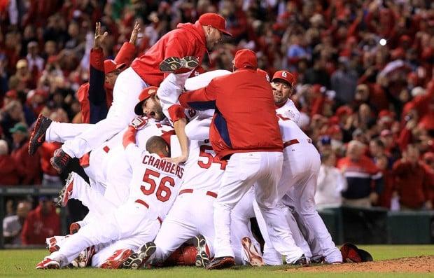 Cardinals Celebrate World Series