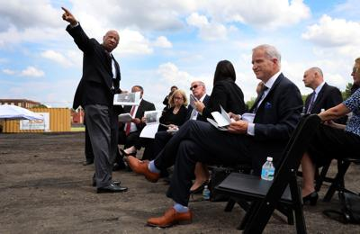 Federal officials join local leaders for tour update of NGA site