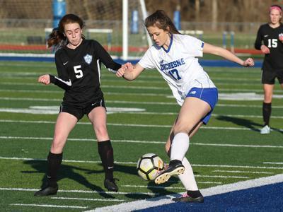 Lutheran St. Charles vs. Duchesne girls soccer