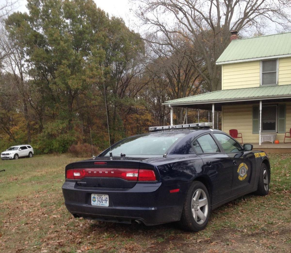 Body found in rear of vehicle