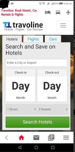 Hotel Booking App Travoline