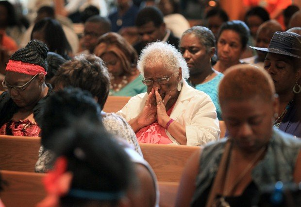 Trayvon Martin's family visits East St. Louis