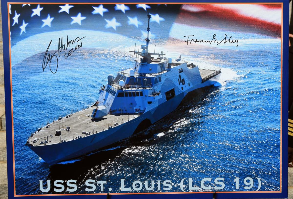 USS St. Louis being christened Saturday in Wisconsin