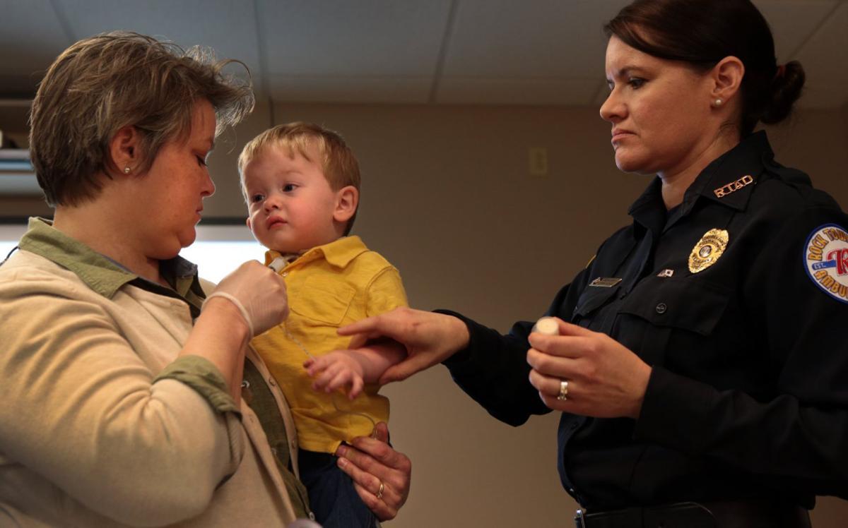 Children of STARS teach first responders