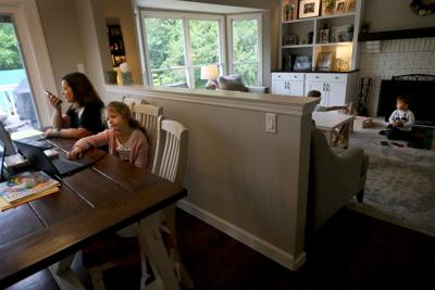 Balancing work and children while sheltering-at-home