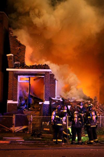 House Explosion 4200 block of Linton Avenue
