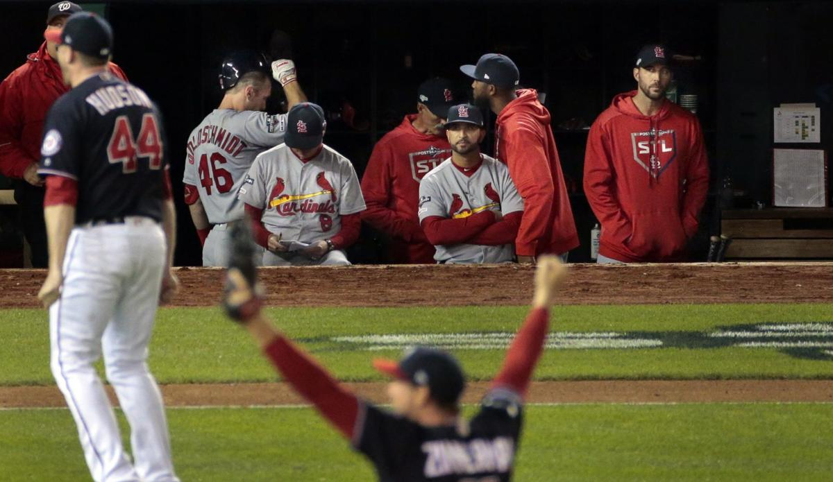 Cardinals go down swinging — and mostly missing — as Nationals complete runaway sweep