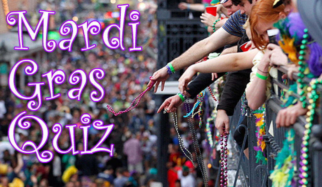 photograph about Mardi Gras Trivia Quiz Printable called The Mardi Gras Quiz Leisure