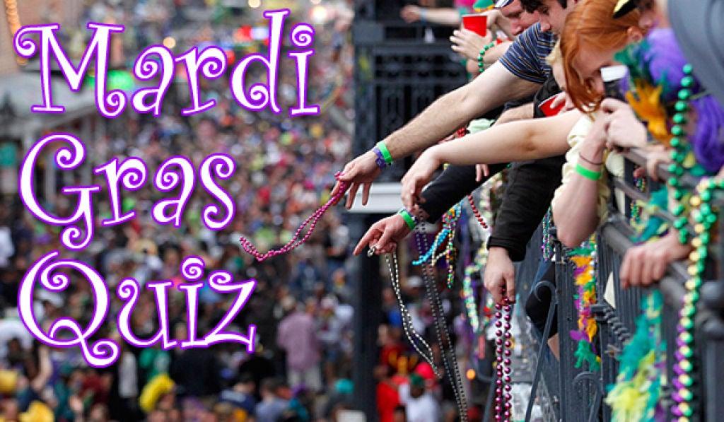 photo about Mardi Gras Trivia Quiz Printable identify The Mardi Gras Quiz Enjoyment