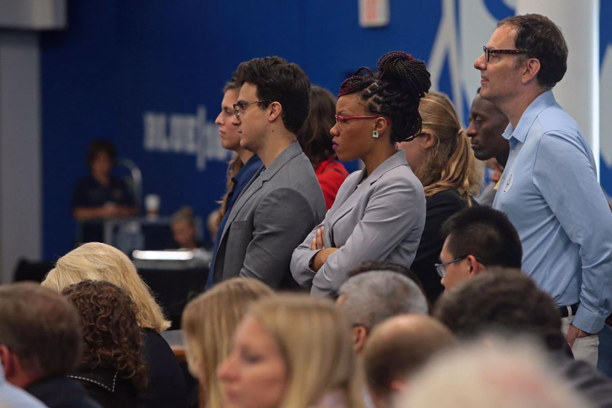 Vice President Biden speaks in St. Louis about jobs in the tech industry