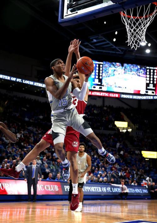 St. Louis University beats UMass 83-80 in overtime