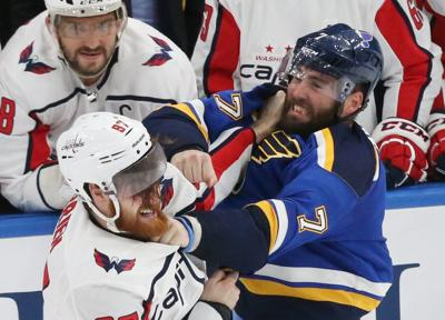 online store bbfd3 eb549 Nimble hands, active fists are key's to Patrick Maroon's ...