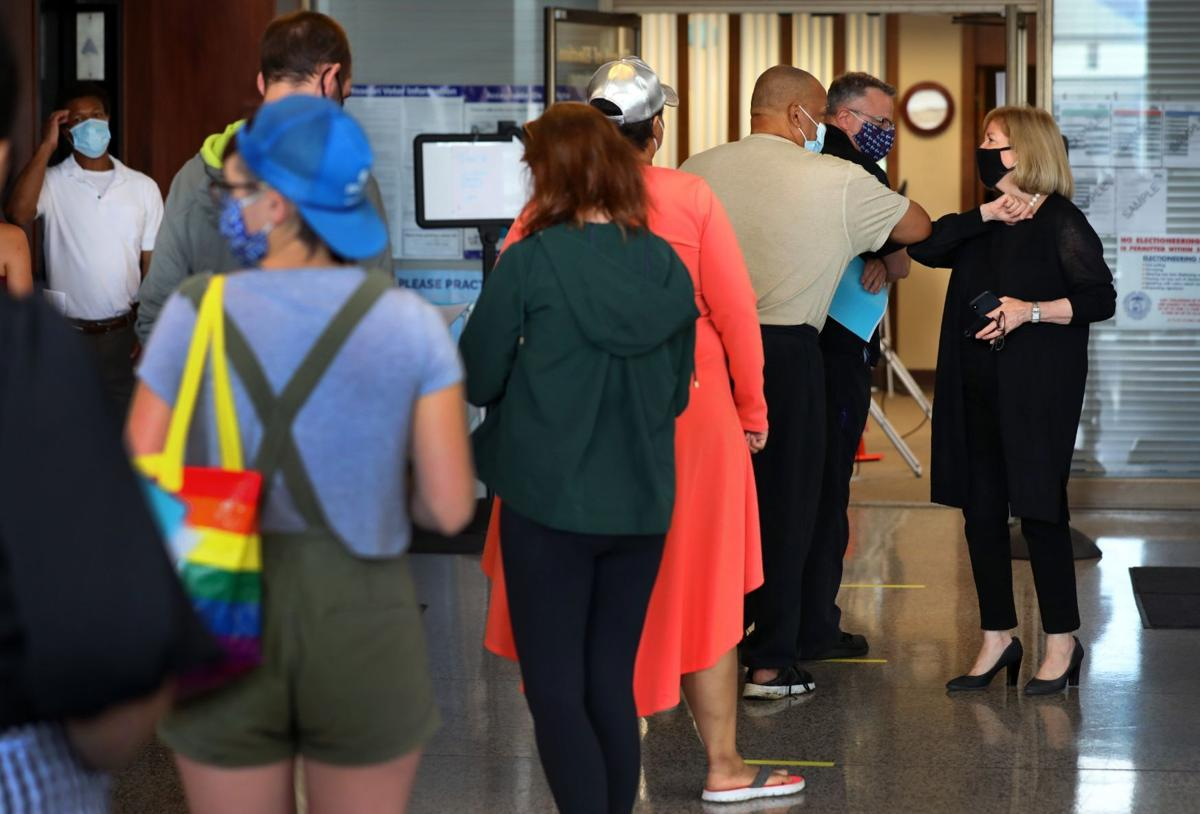 Absentee voters flood election commission