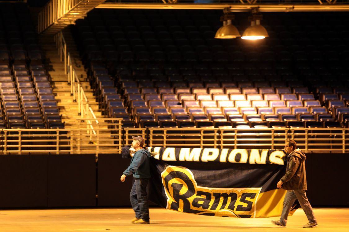 Rams moving out of the dome