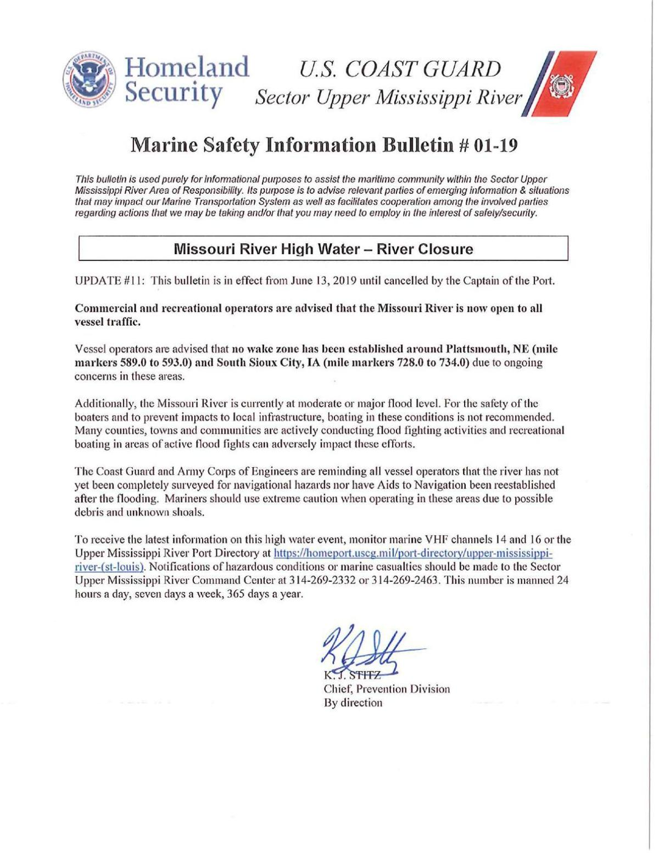 Coast Guard Marine Safety Bulletin