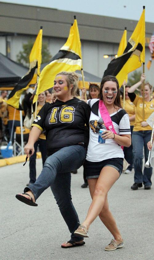 Homecoming game : University of Missouri play rival University of  Oklahoma