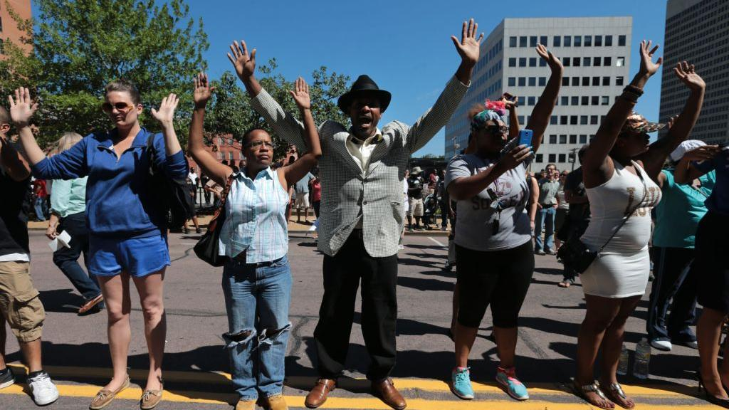 FERGUSON DAY THREE WRAPUP: Calls for Justice   Law and order