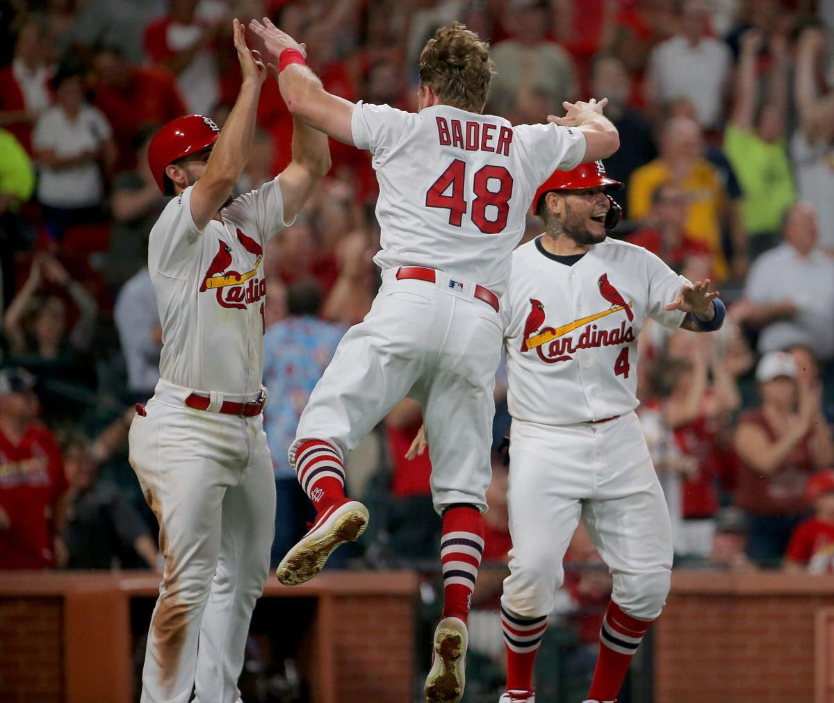 Cardinals top Brewers another time in battle of bullpens