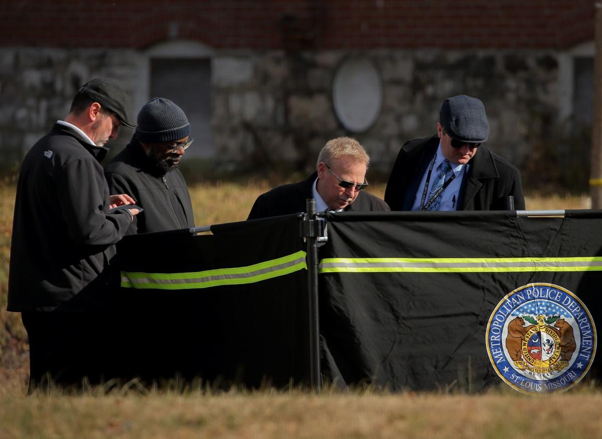Photos: Shootings leave two dead Tuesday morning in St. Louis