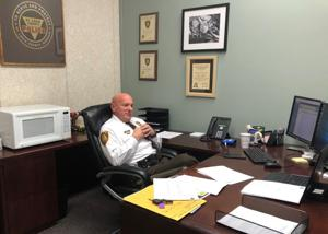 'I've got a job to do': Wildhaber says he will remain a St. Louis County police officer
