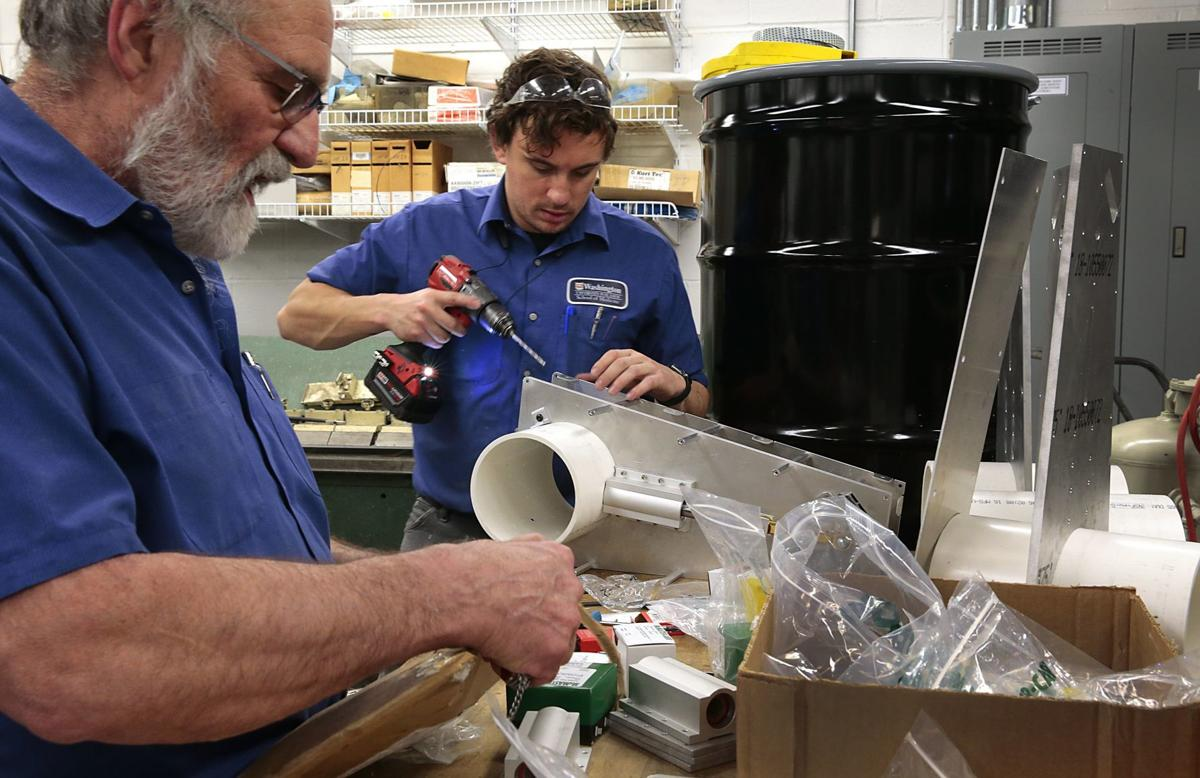 Washington University builds team of engineers, machinists and healthcare workers to make a ventilator