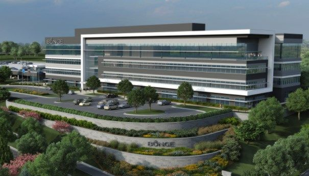 Rendering of proposed Bunge North America headquarters