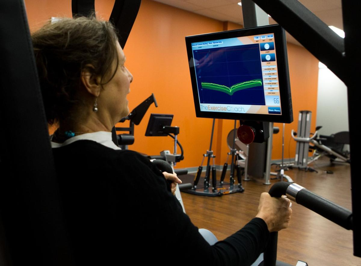 Deborah Morley trains at Exercise Coach.