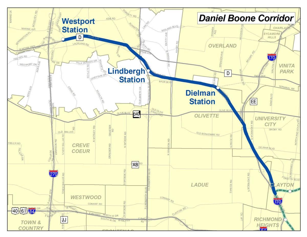 Daniel Boone MetroLink line