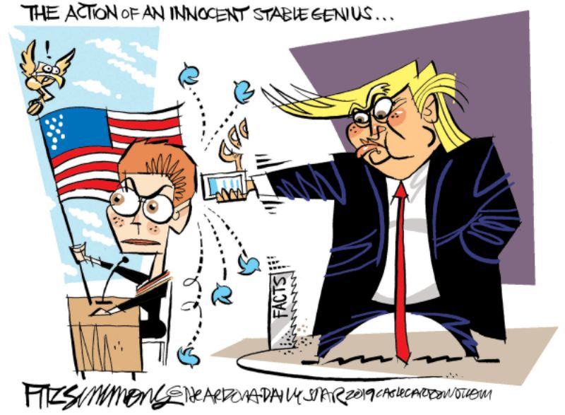 In the cartoons: Yovanovitch; Roger Stone; impeachment