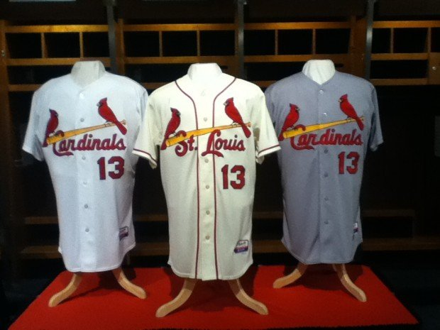 84615728ecb6 Cardinals add new jersey for 2013 season