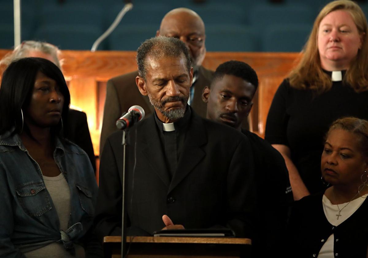 Reverend Darryl Gray, aggressive policing at protests