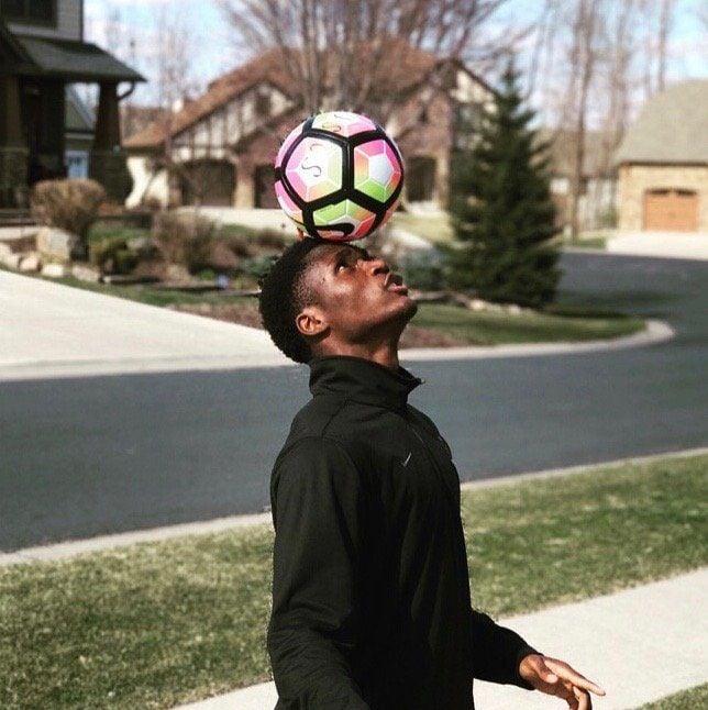 SLU soccer recruit Patrick Weah
