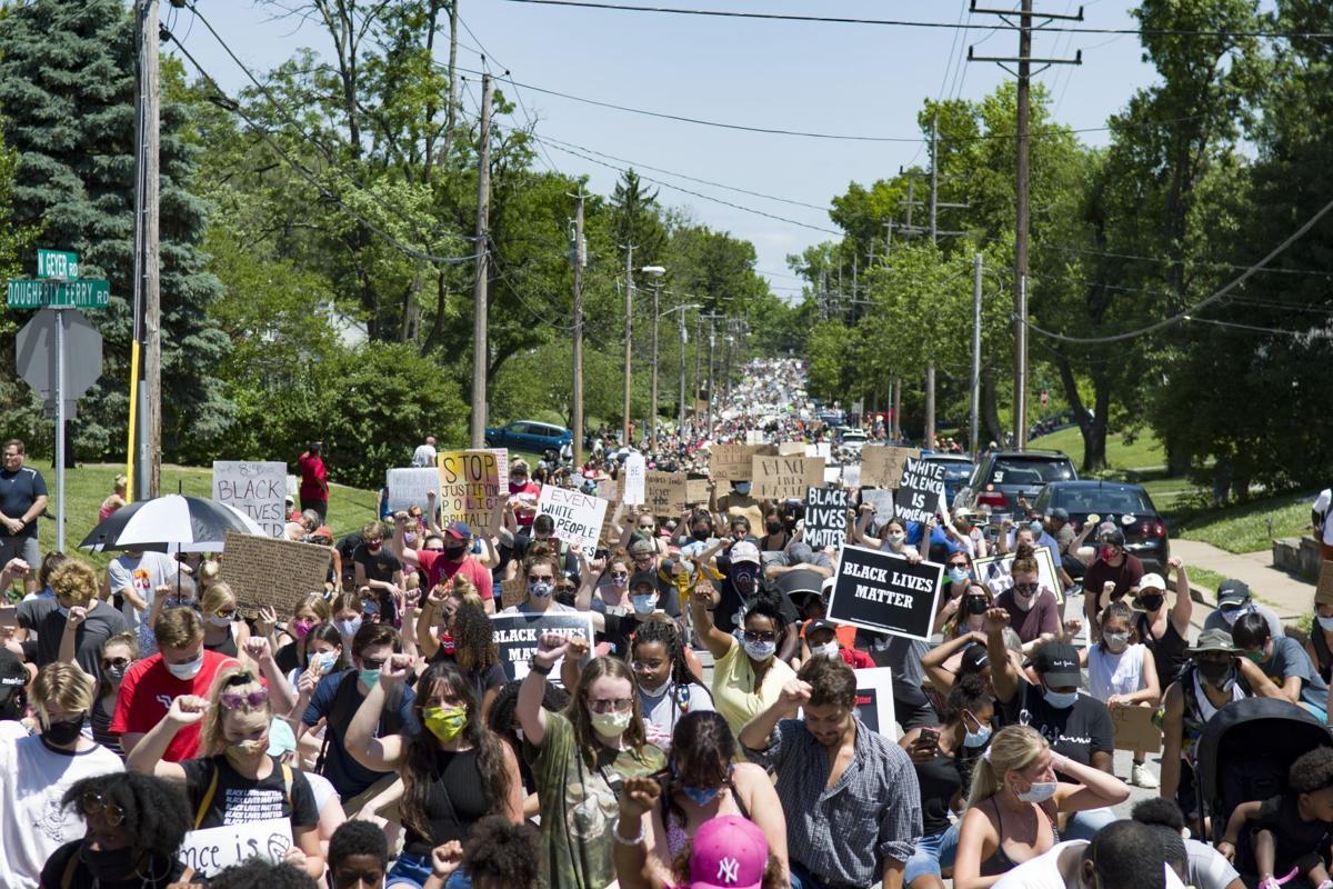Black Lives Matter peace walk in Kirkwood