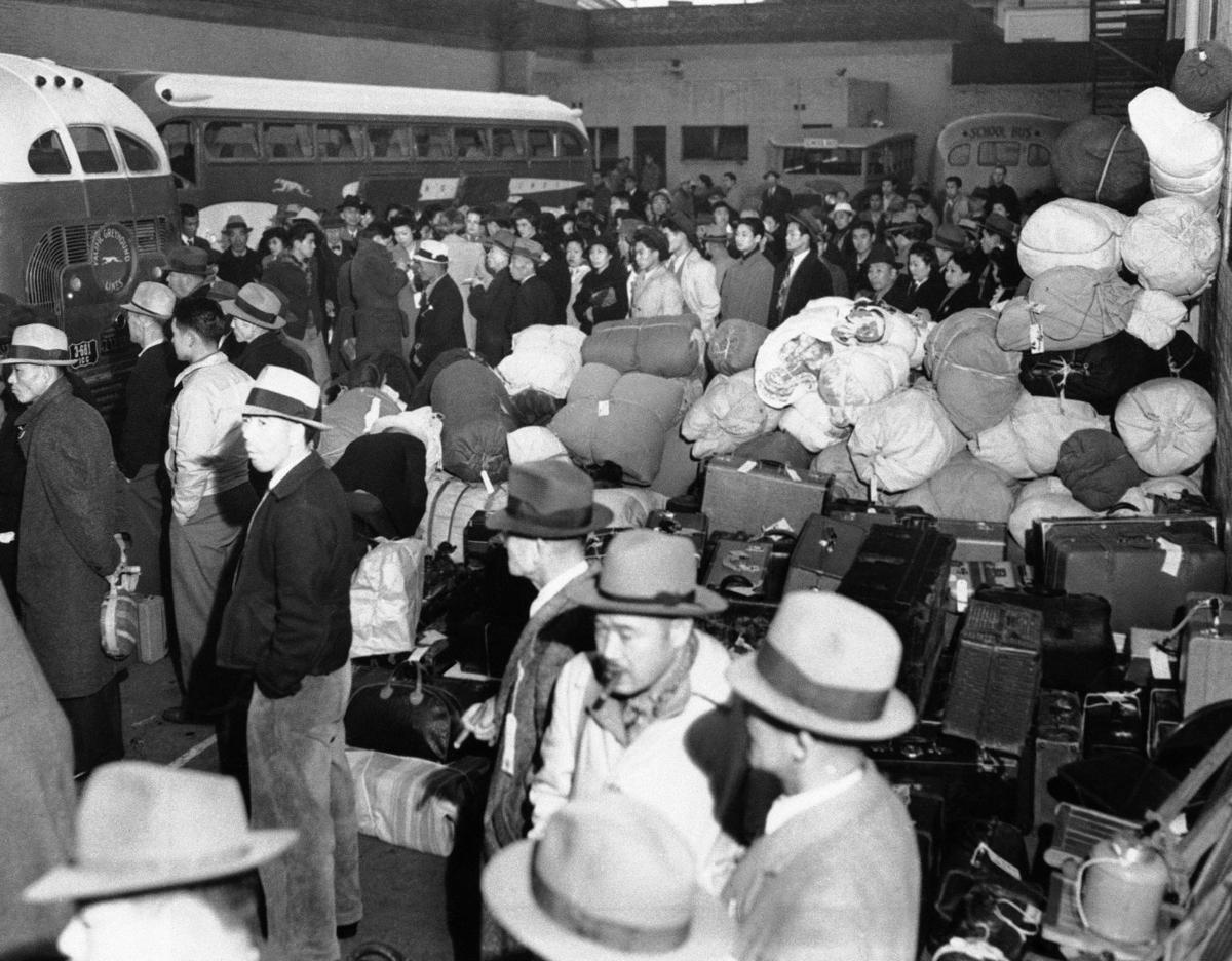 a look at the japanese american internment camps Executive order 9066 was a united states presidential executive order signed and issued during world foitimes a resource for european american internment of japaneserelocationorg searchable data for over 100,000 japanese americans interned at camps.